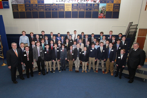 Class of 2022 Recognized At Annual Brother James Rieck, FSC '57 Scholarship Reception