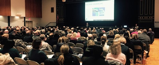 Parents of Juniors Attend College Information Night