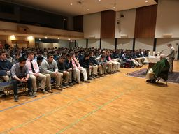 Class of 2019 Gathers for Junior Class Retreat