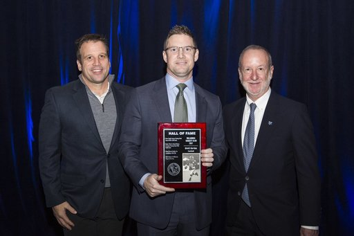 Brett Gordon '98 Inducted Into Villanova Sports Hall of Fame