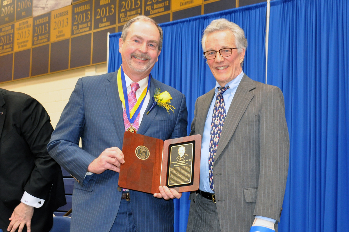 Alumni Honored at Annual Communion Breakfast and Hall of Fame Induction