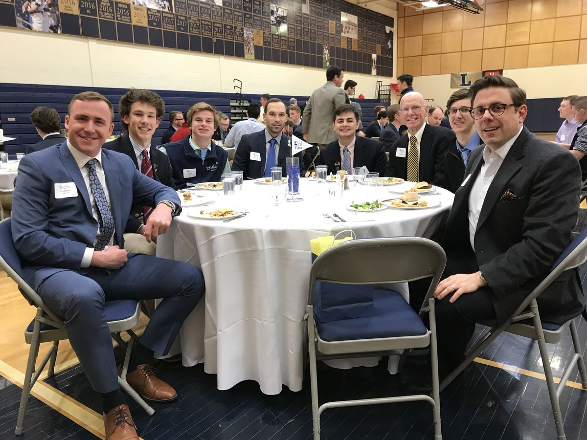 Alumni Join Class of 2018 For Senior Leadership Luncheon