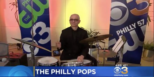 Music Department Instructor Performing With The Philly Pops
