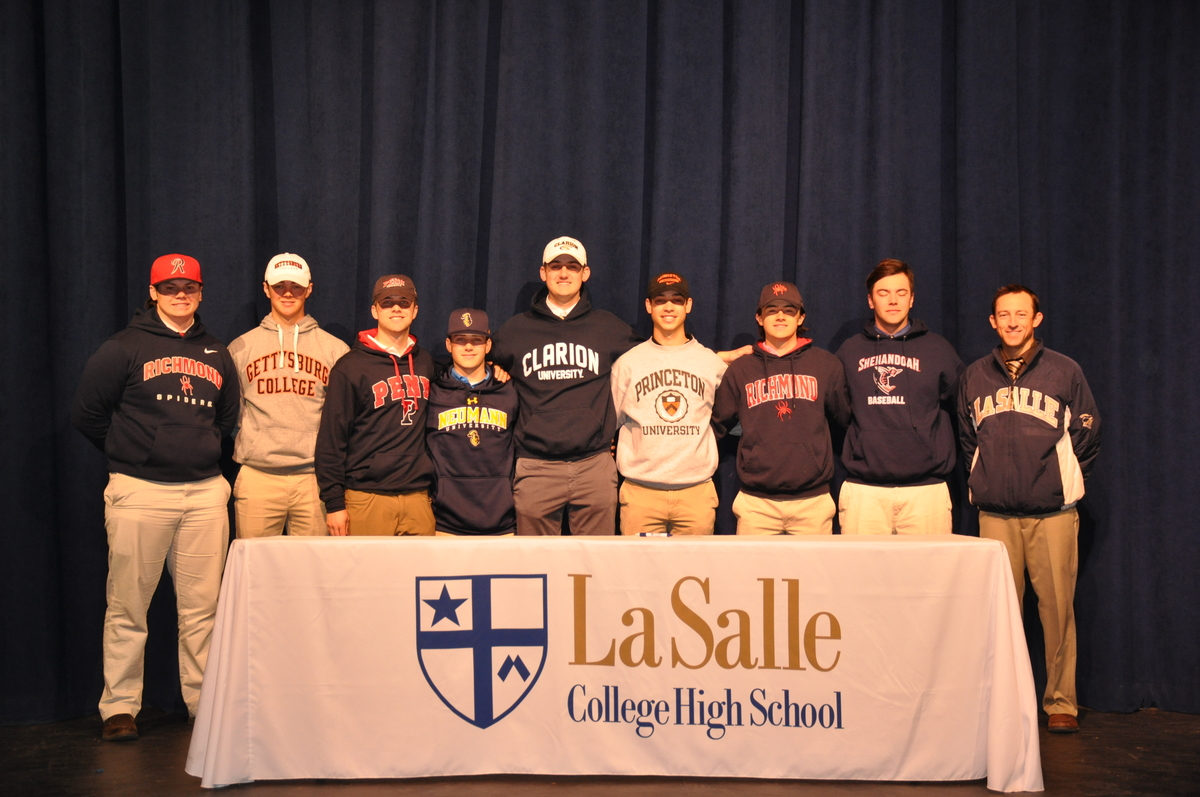 Track and Baseball Student-Athletes Sign National Letters of Intent