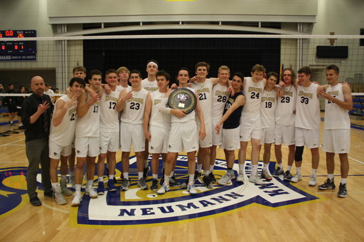 Volleyball Team Wins 3rd Straight Catholic League Championship