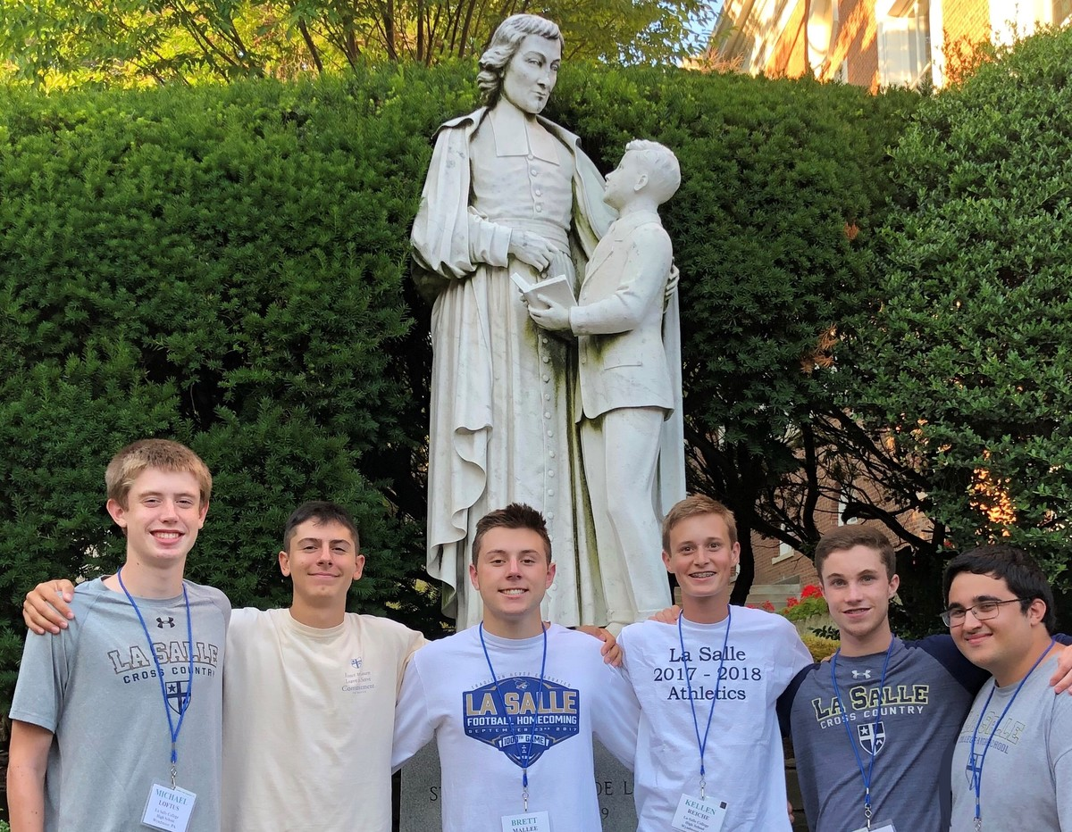 Seniors Represent LSCHS at Annual Lasallian Youth Summer Assembly