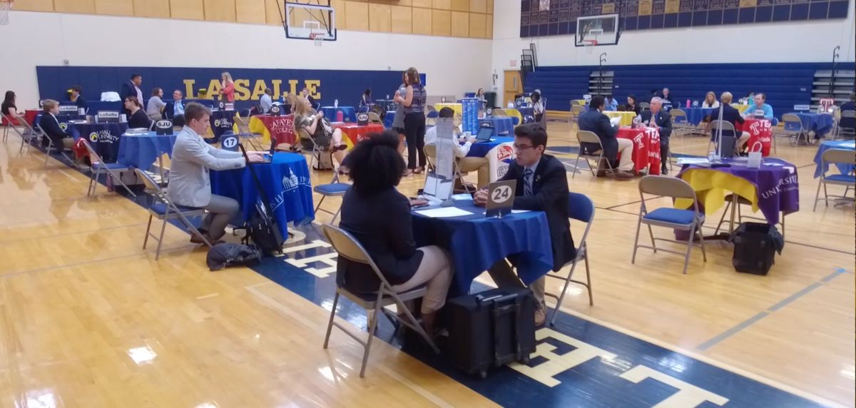 Seniors Make An Impression At Annual College Interview Day