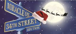 """Miracle on 34th"" St Auction"