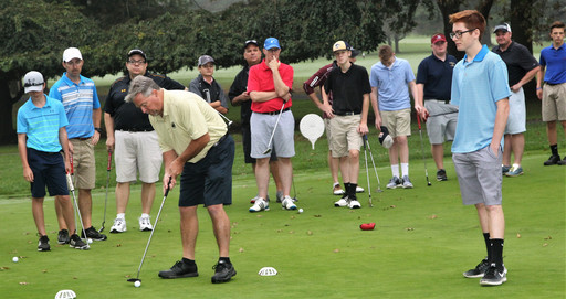 Fathers and Sons Gather For Soldout Annual Golf Outing
