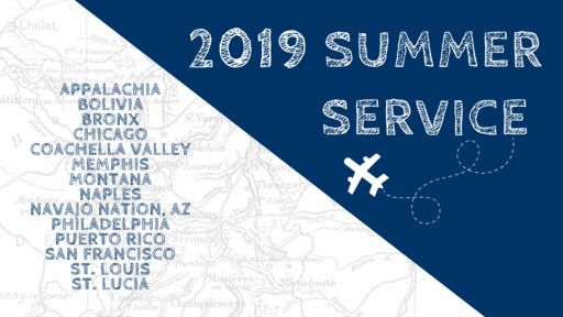 Office of Mission & Ministry Hosts Annual Summer Service Program Kickoff Meeting