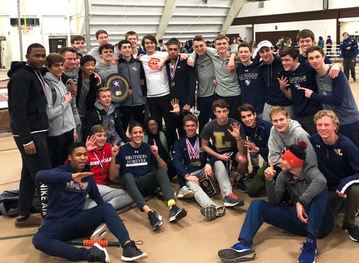 Indoor Track Team Wins 5th Consecutive Catholic League Championship