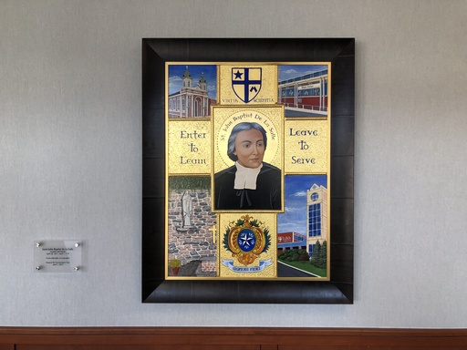 Tercentenary Icon of Saint La Salle Installed at La Salle College High School