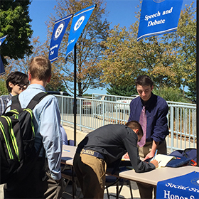 The activities fair
