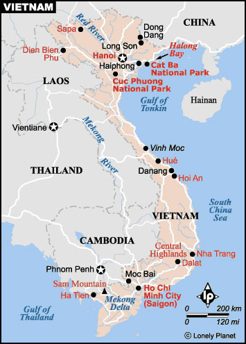Resource Content Map Modern Vietnam